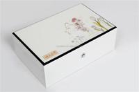 hot sale white wooden jewelry storage box wholesale