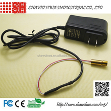 635nm 1mW 5mW 110-220v Class 2 Class 3a Dot Line Cross Mini Red Laser Module with Power Supply