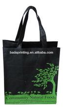 Silk screen printing durable wine bag/shopping bag