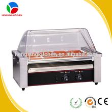 Cheap price 9 rolls hot dog warmer/ hot dog maker/hot dog machine