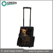 Pet products trolley dog Carrier on wheels