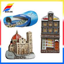 3d resin /souvenir fridge magnets