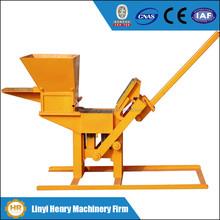 small business equipment QMR2-40 Manual Interlocking Brick Making Machine