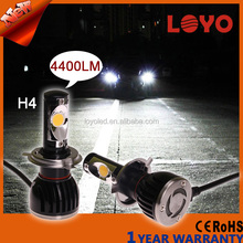 Newest 48w 4400 lumen Auto LED headlight , Led Car headlight Assembly