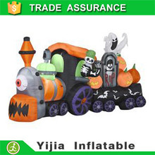 Garden Yard Party Decoration Airblown Skeleton Ghost Pumpkin on halloween inflatable train