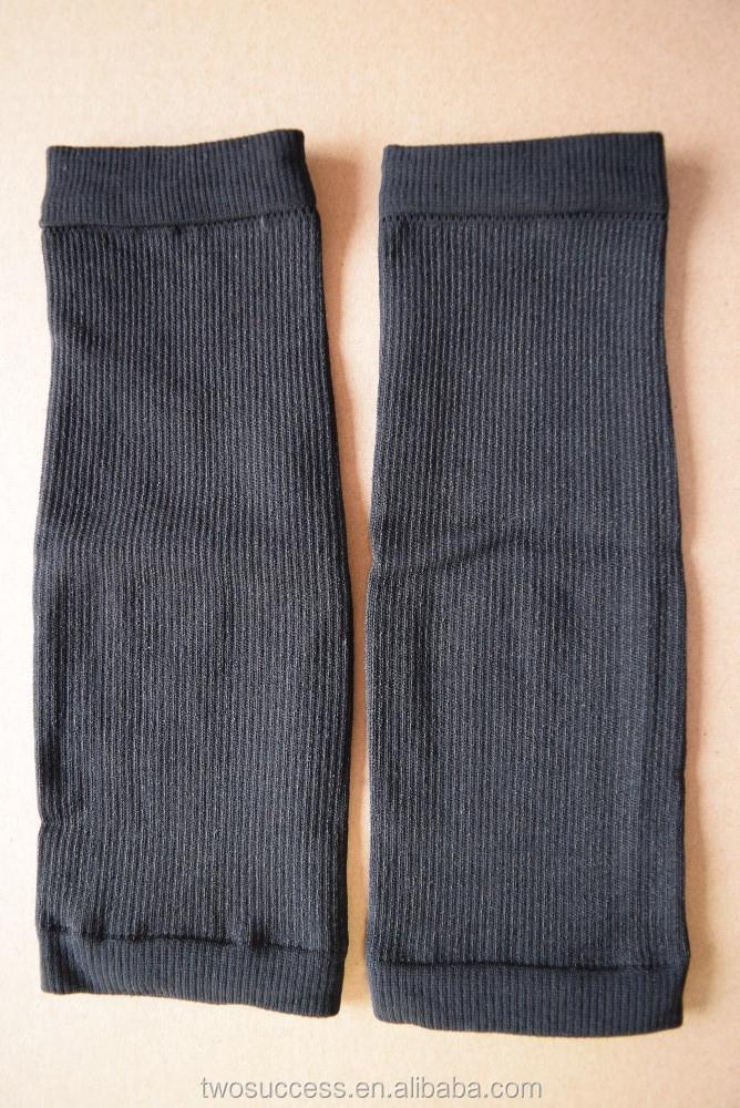 Spandex Nylon compression calf sleeve leg support basketball sleeve (3)