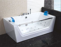Wholesale jetted tubs shower combo, hydro massage bathtub