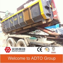 Custom hot sale garbage truck in europe for sale detachable containers