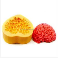 wholesale single promotional heart shape soap mold decorative soap mold cake mold