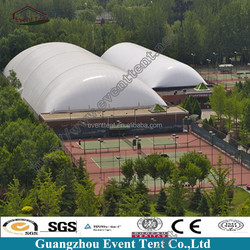 New design colorful steel structure design event tent inflatable for warehouse