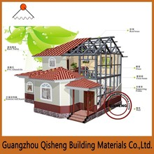 Light steel Structure House Villa Prefabricated Houses and Villas
