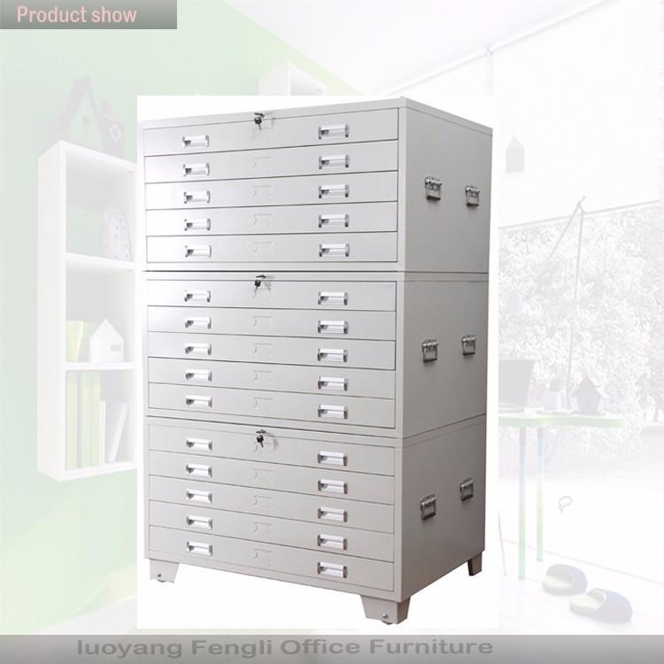 Metal furniture sale Strong design multi drawer paper flat file storage cabinets & Metal Furniture Sale Strong Design Multi Drawer Paper Flat File ...