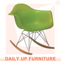 rar eames cadeira do lazer cadeira de madeira cadeira de balanço cadeira de balanço varanda ao ar livre plástico de madeira