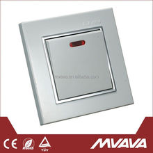 Widely Use Favorable Price Stainless Steel Wall Switch