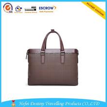 new style fashional large capacity PU leather man handbag