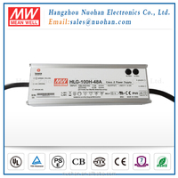 Meanwell 48V 0-10v dimming 100w led driver pwm dimmable led driver with IP65 IP67