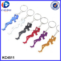 Sexy Open Free Key ring sex girls pictures with animals Japanese girl bottle opener keychain