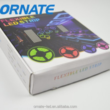 12v RGB 5050 led strip light kit CE ROHS IP65 glue drop