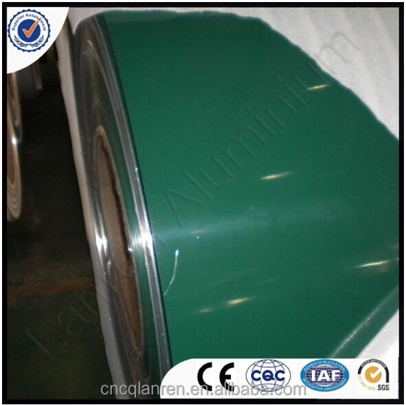 Color Coated 1220mm Width Aluminum Coil Ceiling Gutter
