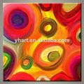 venta al por mayor moderno abstracto de color brillante pintura sobre lienzo