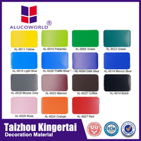 Alucoworld used corral acp sheet aluminum composite panel construction building materials