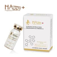 Skin care Happy+ QBEKA serum hyaluronic acid serum biological 100% natural pure hyaluronic acid serum anti wrinkle face serum