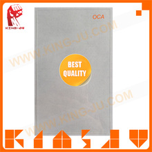 Small MOQ Wholesale Clear Adhesive glue,] double sided clear optical film for iphone 6