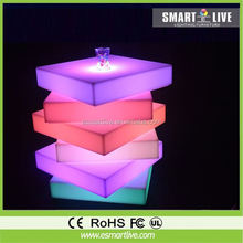 inflatable remote control led cone light, led flame, led sea grass for event, party, decoration