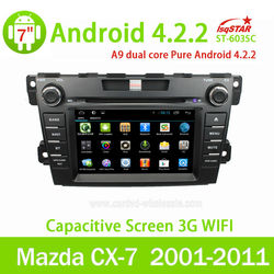 Android Car Radio 2 din for Mazda CX-7 Car GPS System with GPS 3G Wifi