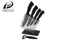 Sharp new design 4 pcs kitchen ceramic knife