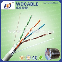 PE/LDPE insulation UTP/STP/SFTP rubber cable cat5e