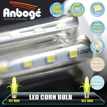 High quality dimmable led corn light 3W energy saving 2U led lamps
