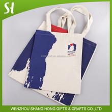 Promotion custom reusable cotton recycle bag/custom cotton bag