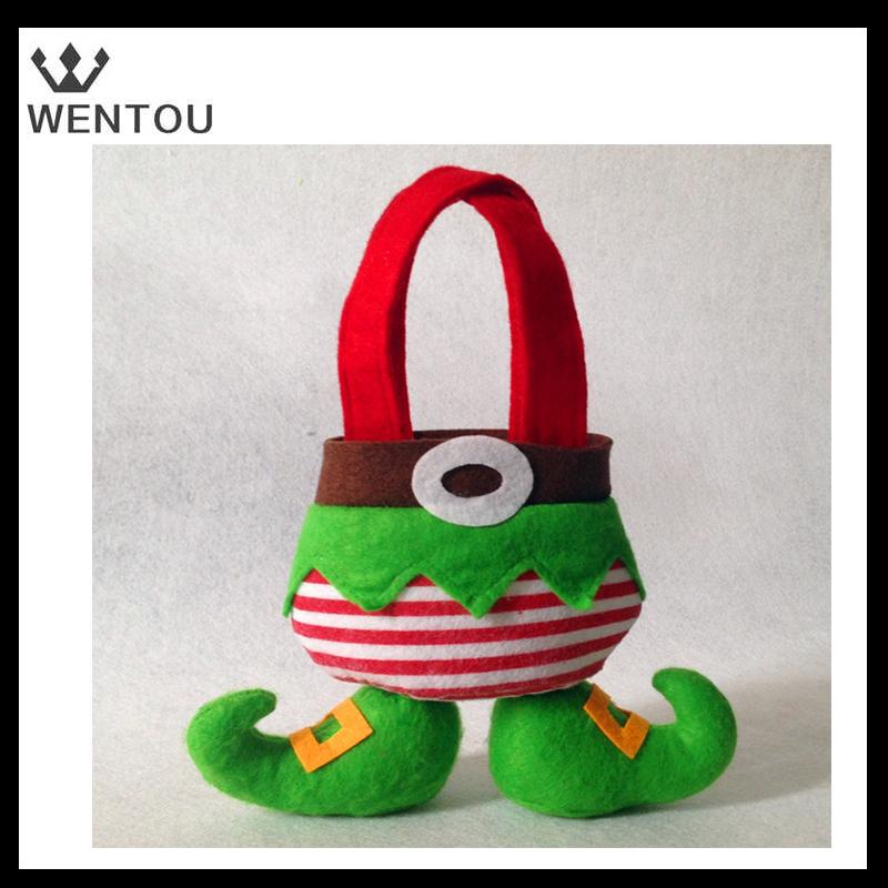 Wholesale small adorable christmas gift bag