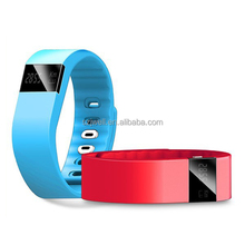 silicone waterproof bluetooth smart bracelet 2015 health sleep monitoring smart bracelet heart rate of sport online shopping