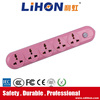 High quality electrical wire with switch and plug multi pin plug and socket