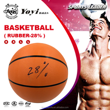 professional supply rubber basketball