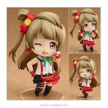 Wholesale 10cm PVC 458# Q version love live Minami Kotori Japanese cartoon characters action figure