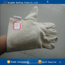 DANFENG DFG414 China Goods Wholesale Work Gloves Welding Hand Metal Gloves For Cutting leather welding gloves