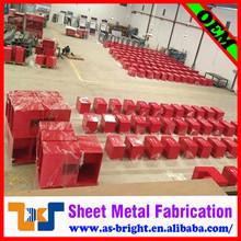Custom steel case,steel fabrication metal case,metal box fabrication