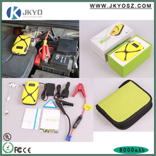 Factory sale 12v multi-function car battery charger aga jump starter with led light
