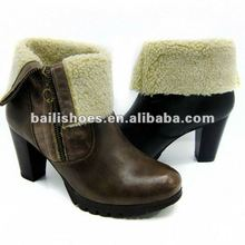 New style ladies winter boots fashion keep warm 2012