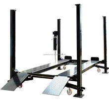 In China Low Price Sale Vehicle Lifter movable hydraulic car lift/pneumatic car lift
