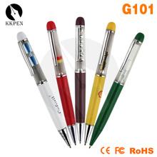 Shibell pen with logo pencil case for men wooden pen set