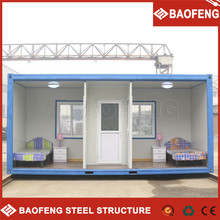heat insulated compactable container house