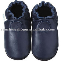 FREE shipping! High quality sheepskin soft sole baby leather shoes with all kinds solid color