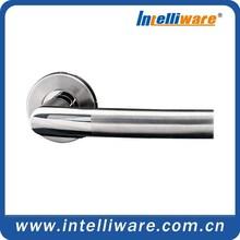 Stainless steel modern door handles and knobs 2K088-SS