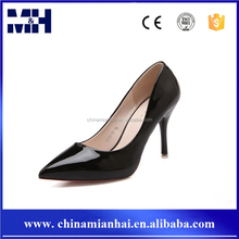 PARTY PATENT LEATHER LADIES HIGH HEEL PU BRIDAL WEDDING SHOES