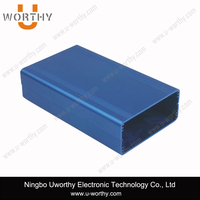 color anodized tubular aluminum pcb housing for electrical circuit board