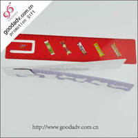 Two side colorful rainbow color plastic ruler manufacturer